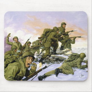 The Borinqueneers by Dominic D'Andrea Mouse Pad