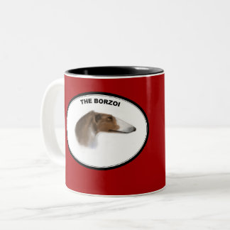 The Borzoi Two-Tone Coffee Mug