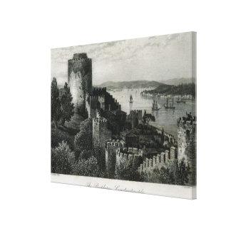 The Bosphorus, Constantinople Canvas Print