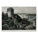 The Bosphorus, Constantinople Greeting Card
