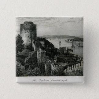 The Bosphorus, Constantinople Pinback Button