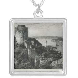 The Bosphorus, Constantinople Silver Plated Necklace