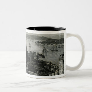 The Bosphorus, Constantinople Two-Tone Coffee Mug