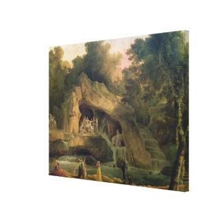 The Bosquet des Bains d'Apollo Canvas Print