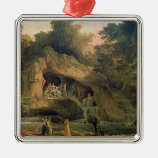 The Bosquet des Bains d'Apollo Metal Ornament