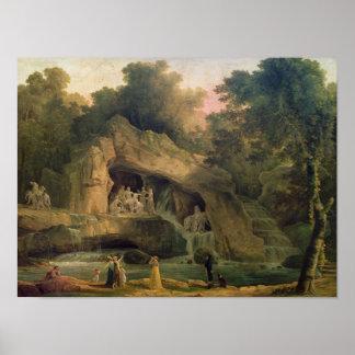 The Bosquet des Bains d'Apollo Poster