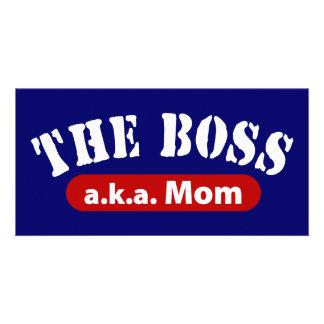 The Boss a.k.a. Mom Card