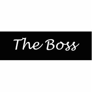 The Boss Acrylic Key Chain Photo Cut Outs