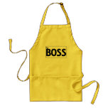 The Boss Adult Apron