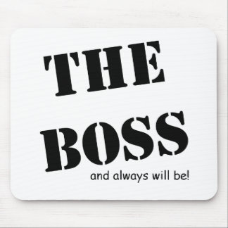 The Boss and always will be!! Range Mousemat