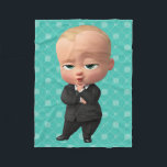 """The Boss Baby   I am the Boss! Fleece Blanket<br><div class=""""desc"""">The Boss Baby   2017 DreamWorks Animation. This cute graphic features the Boss Baby.</div>"""