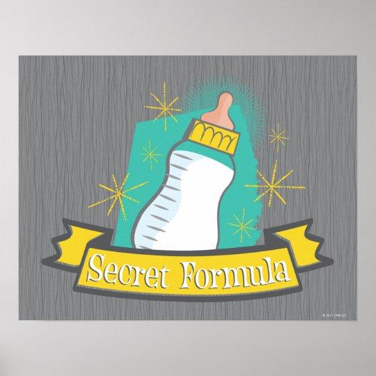The Boss Baby Secret Formula Poster
