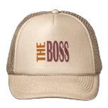 THE BOSS BROWNY TRUCKER HAT
