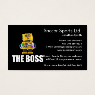 The Boss Business Card