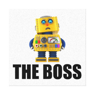 The Boss Canvas Print