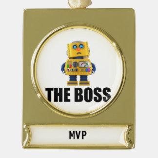 The Boss Christmas Ornament