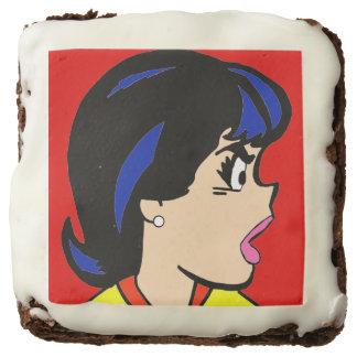 The Boss Comic Strip Brownies Square Brownie