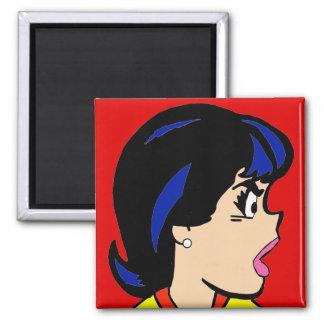 The Boss Comic Strip Magnet