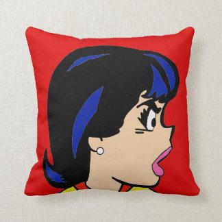 The Boss Comic Strip Throw Pillow