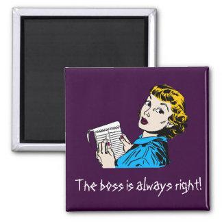 The Boss Customisable Magnet