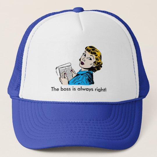 The Boss Customisable Trucker Hat