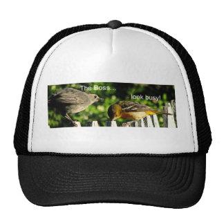 the boss.. trucker hat