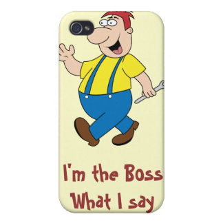 The Boss iPhone 4 Case Template