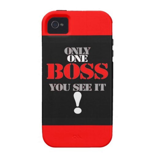 THE BOSS iPhone 4 COVERS