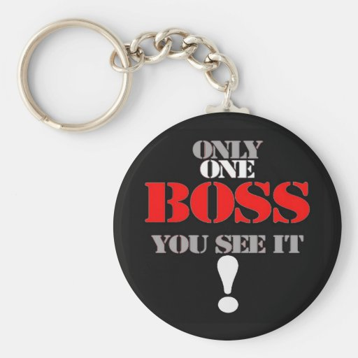 THE BOSS KEY CHAIN