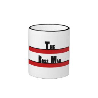 THE BOSS MAN by: ChicaSunshine Ringer Coffee Mug