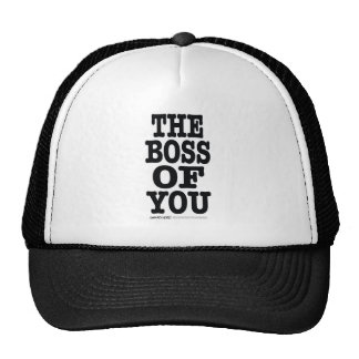 The Boss of You Trucker Hat