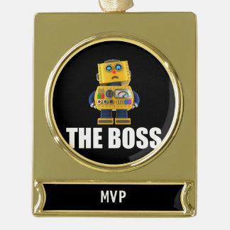 The Boss Ornament