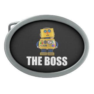 The Boss Oval Belt Buckle