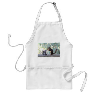 The Boss Squirrel Adult Apron