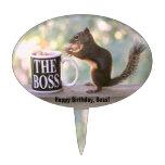 The Boss Squirrel Cake Picks