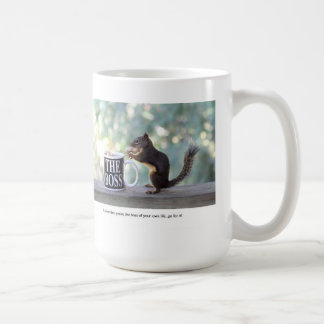 """The Boss"" Squirrel Coffee Mug"