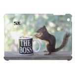 The Boss Squirrel iPad Mini Case