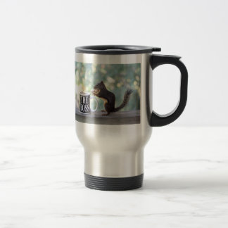 The Boss Squirrel 15 Oz Stainless Steel Travel Mug