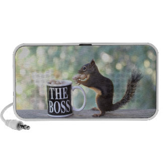 """""""The Boss"""" Squirrel Mp3 Speakers"""
