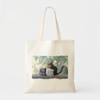 The Boss Squirrel Tote Bag