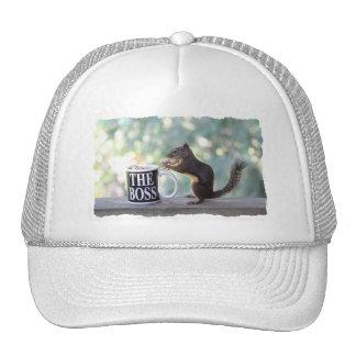 The Boss Squirrel Trucker Hat