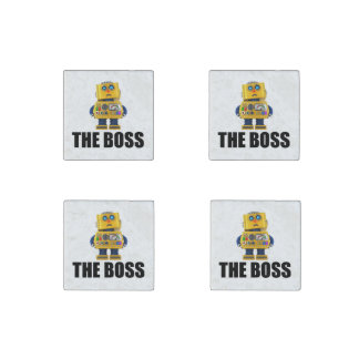 The Boss Stone Magnet