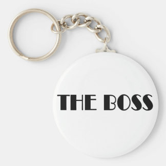The Boss T-shirts and Gifts. Keychain