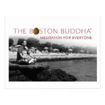 The Boston Buddha Shop Postcard