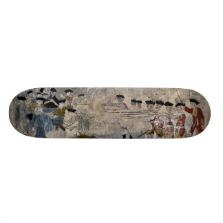 The Boston Massacre by Paul Revere 1770 Skate Deck