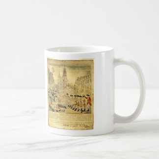 The Boston Massacre by Paul Revere Coffee Mug