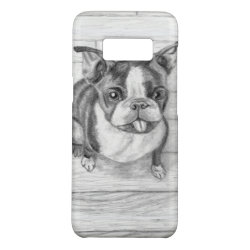 Case-Mate Barely There for Samsung Galaxy S8 Case with Boston Terrier Phone Cases design