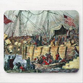 The Boston Tea Party, 16th December 1773 Mouse Pad