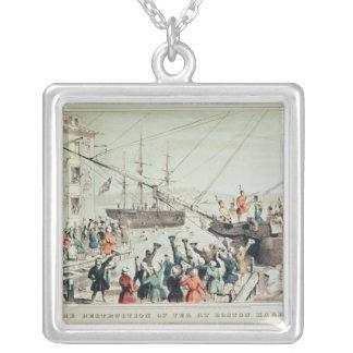 The Boston Tea Party, 1846 Pendants