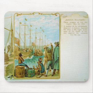 The Boston Tea Party of December 16th 1773 Mouse Pad